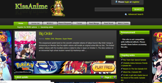 Sites Like KissAnime